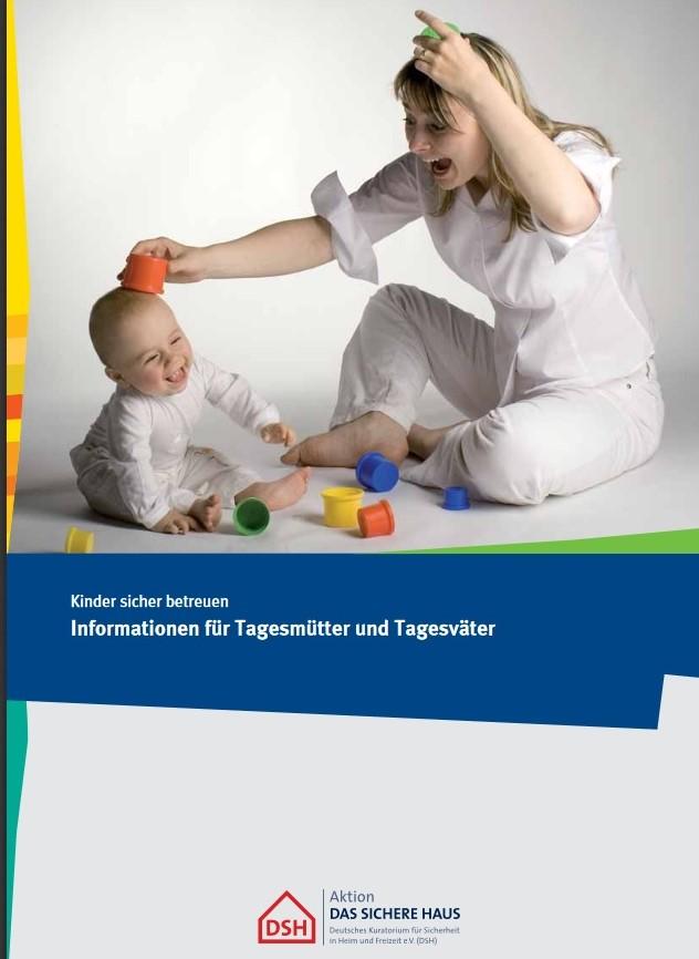 """Broschüre """"Kinder sicher betreuen"""""""