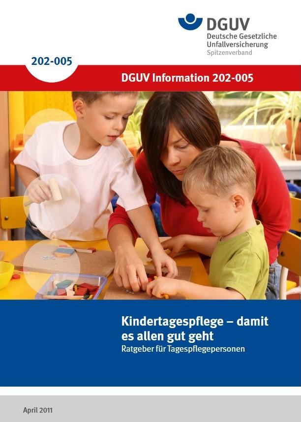 """Broschüre """"Kindertagespflege- damit es allen gut geht"""""""