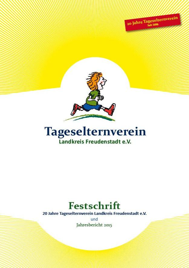 Festschrift- 20 Jahre Tageselternverein (2015)